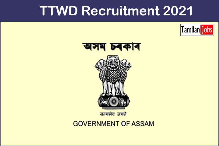 TTWD Recruitment 2021 Out – Apply 97 Programme Managers Jobs
