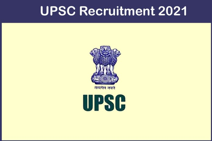 UPSC Recruitment 2021 Out – Apply 89 Economic Officer Jobs