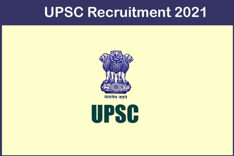 UPSC Recruitment 2021 – Apply 28 Assistant Professor Jobs