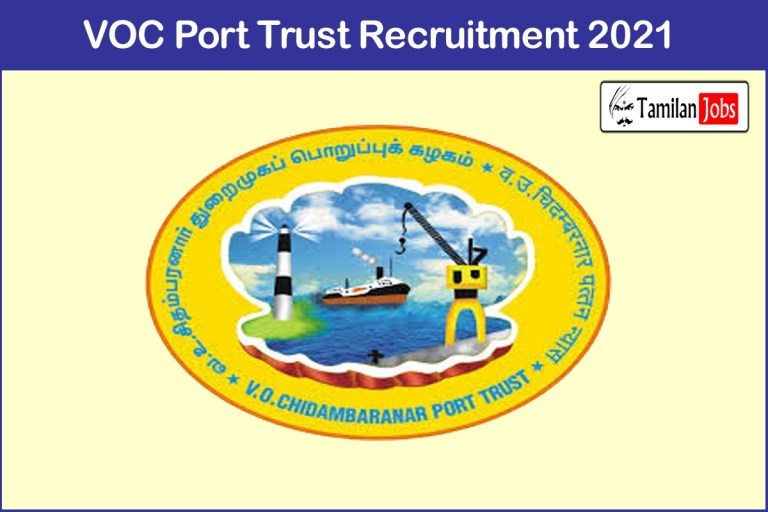 VOC Port Trust Recruitment 2021 Out – Apply Senior Deputy Chief Medical Officer Jobs