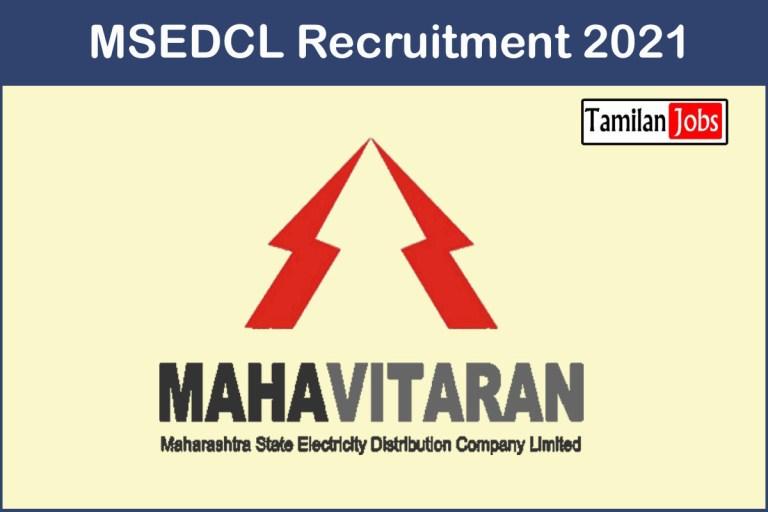 MSEDCL Recruitment 2021 – Apply 7000 Vidyut Sahayak Jobs
