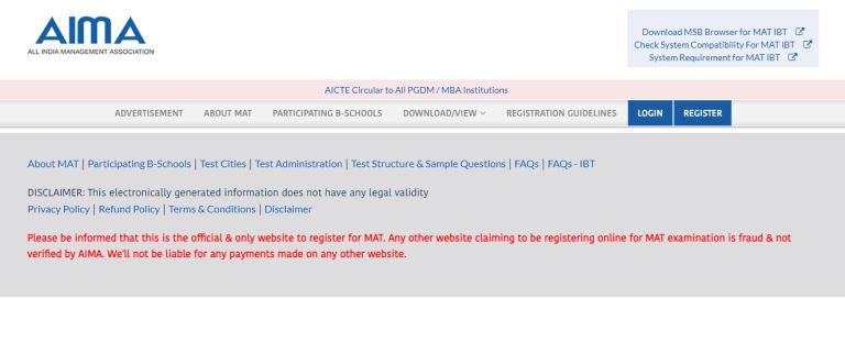 AIMA MAT Admit Card 2021 (Released) @ www.aima.in | Check Exam Date