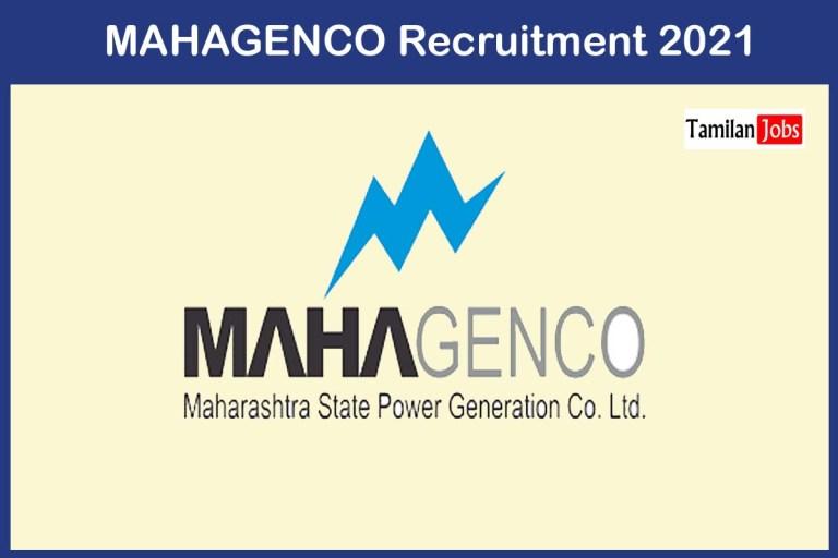 MAHAGENCO Recruitment 2021 Out – Apply Online 64 DEO, Staff Nurse Jobs