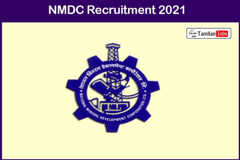 NMDC  Recruitment 2021 Out – Apply Online 304 Field Attendant Jobs