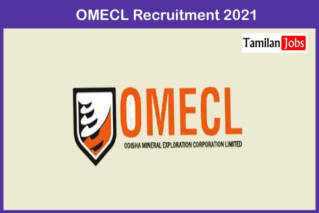 OMECL Recruitment 2021