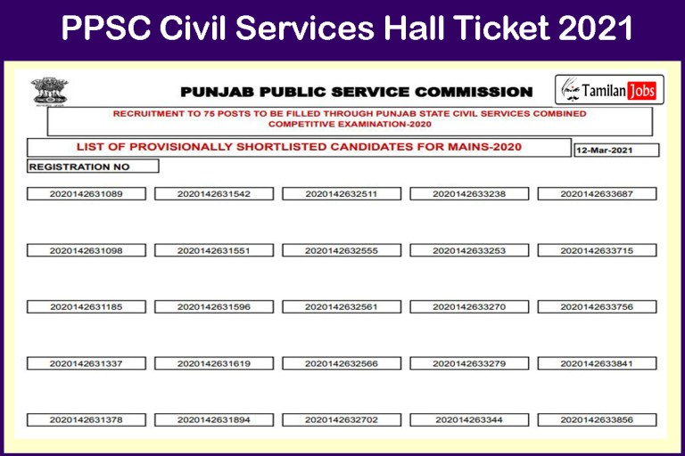 PPSC Civil Services Prelims Result 2021 (Out) @ www.ppsc.gov.in