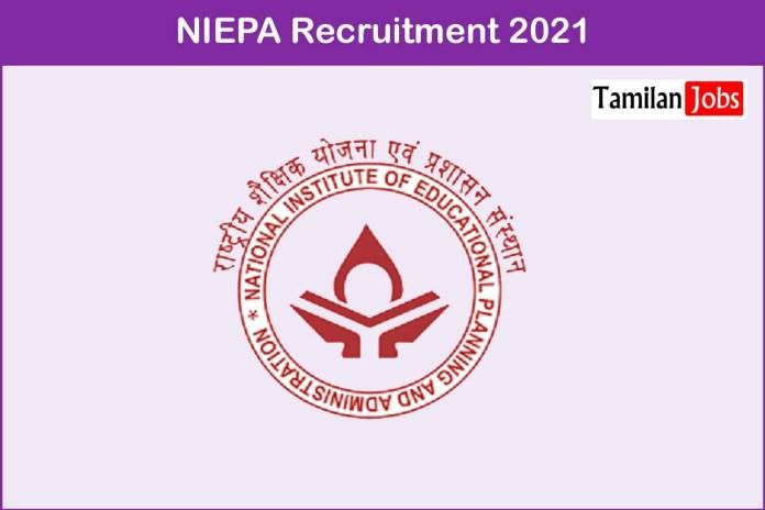 NIEPA Recruitment 2021 Out – Apply Computer Operator, Clerk Jobs