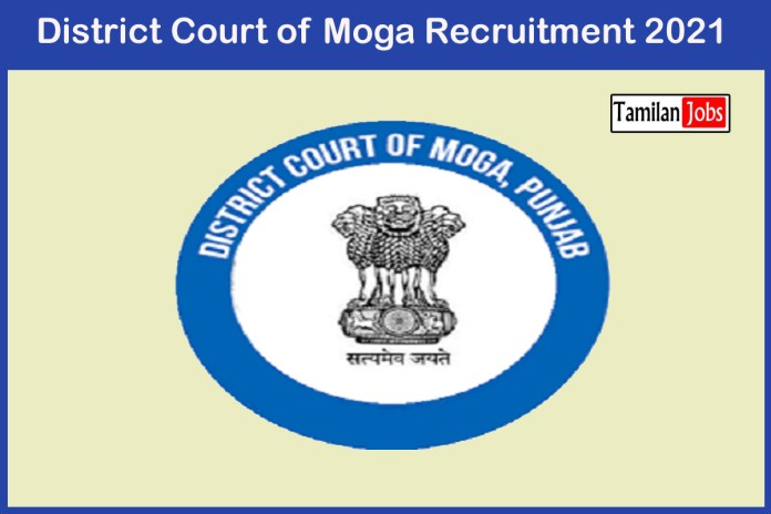 Moga District Court Recruitment 2021 Out – Apply Online 31 Clerk, Sweeper Jobs
