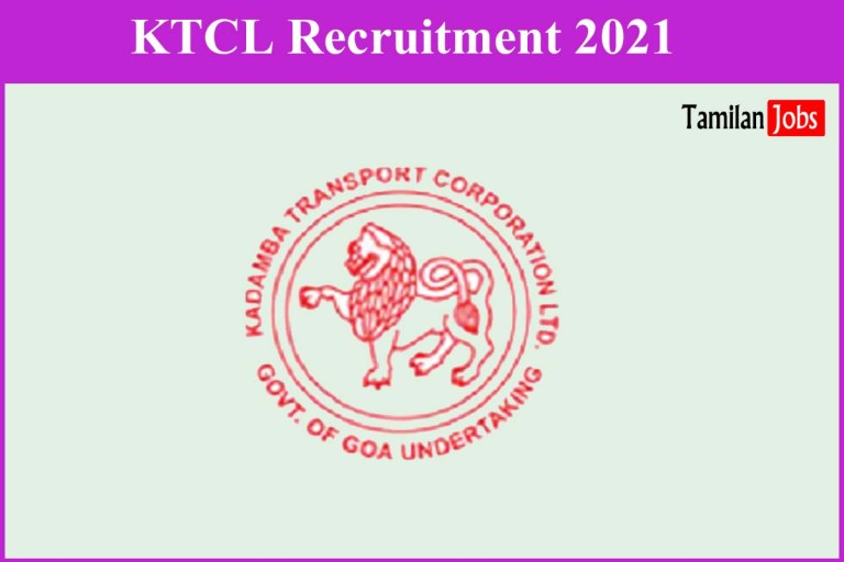 KTCL Recruitment 2021 Out – Apply Online 12 Accountant, AE, Supervisor Jobs