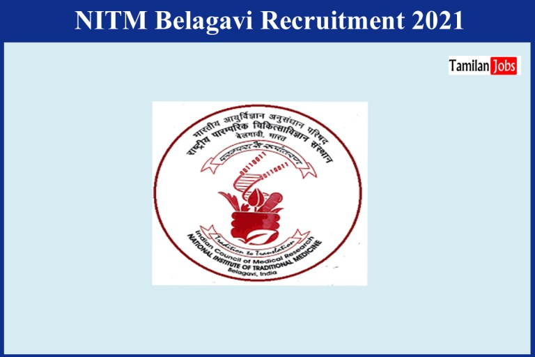 NITM Belagavi Recruitment 2021 Out – Apply Online Contract Scientific Support  Jobs
