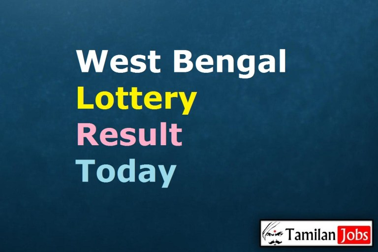 West Bengal State Lottery Result Live Today 5.5.2021, 4 PM, Day, Evening