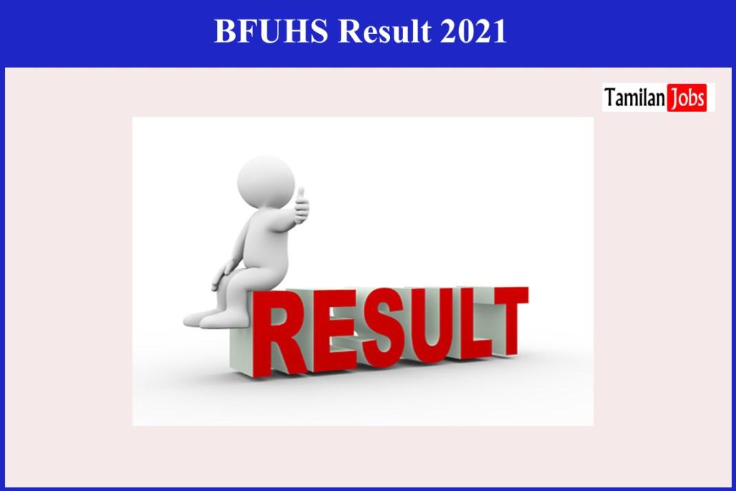 BFUHS Result 2021