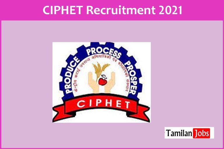 ICAR CIPHET Recruitment 2021 Out – Apply For Junior Research Fellow (JRF) Jobs