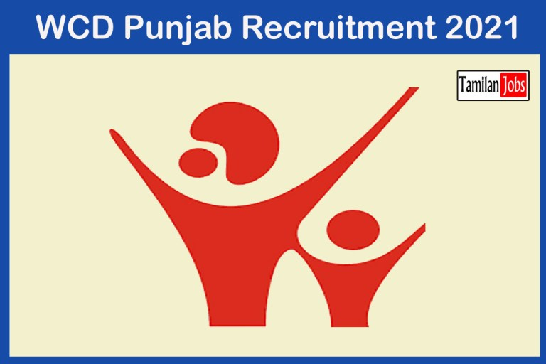 WCD Punjab Recruitment 2021 Out – Apply Online 4481 Anganwadi Worker Jobs