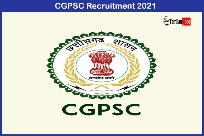 CGPSC Recruitment 2021 Out – Apply Online 641 Medical Specialist Jobs