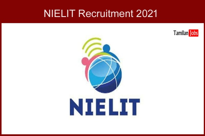 NIELIT Chennai  Recruitment 2021 Out – Apply Online 18 Resource Person Jobs