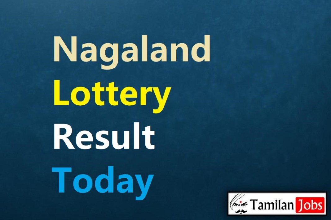 Nagaland Lottery Sambad Result Today