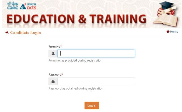 CDAC C-CAT 2021 Admit Card Download   Check Details Here