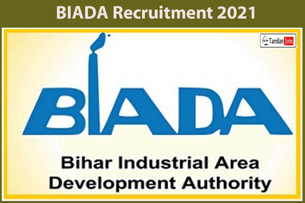 BIADA Recruitment 2021