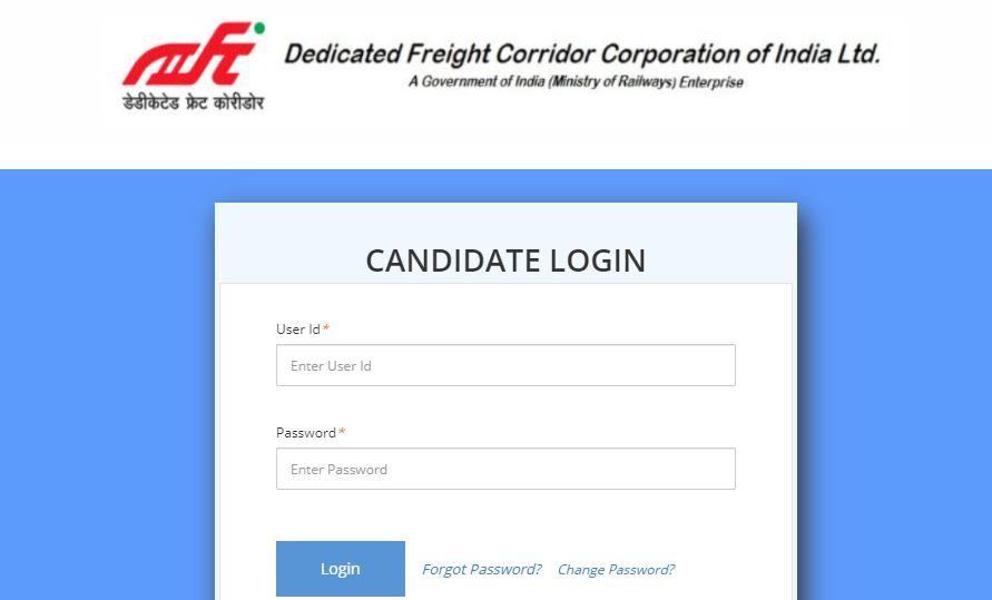 DFCCIL Admit Card 2021