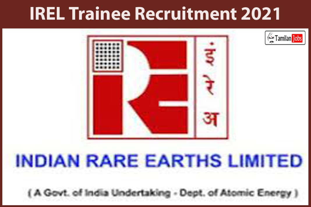 IREL Trainee Recruitment 2021