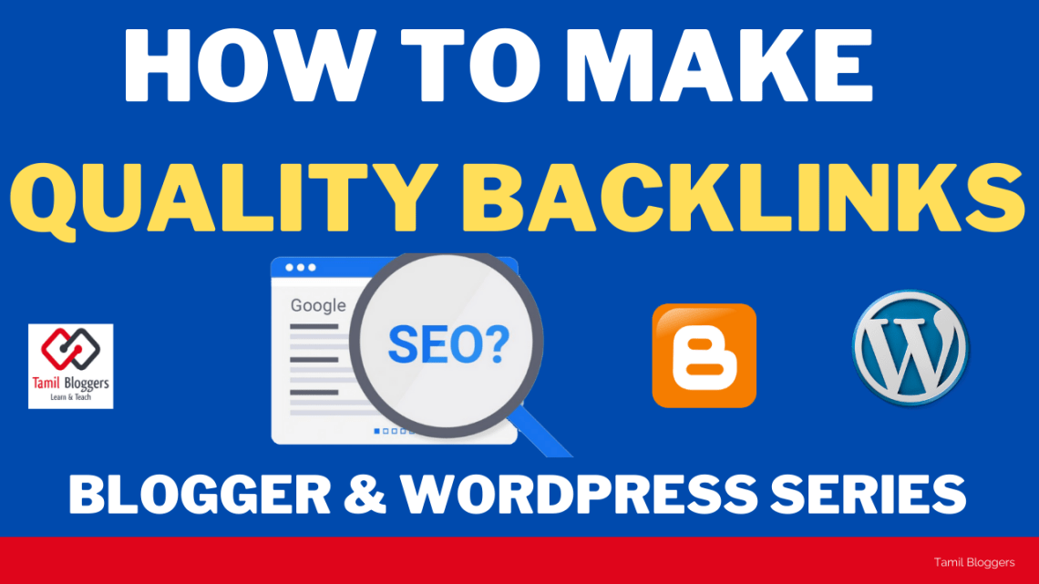 How To Make Quality Backlinks For Website