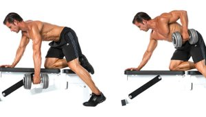 arm-will-strengthen-muscle-One-arm-dumbbell-row