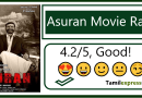 Asuran Movie Rating