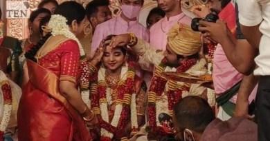 சசிகலா தலைமையில் டிடிவி தினகரன் இல்ல திருமண நிகழ்வு..!!