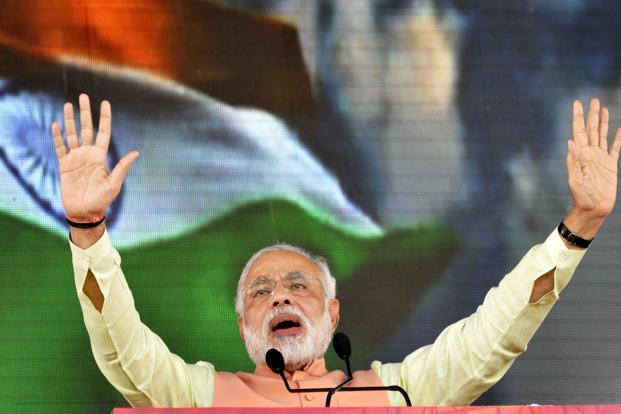 Modi and Flag
