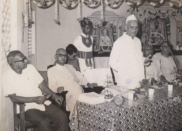 Chennai RKM National School Building Inauguration by Sri Prabhudas Patwari-Governor of Tamil Nadu, 1980