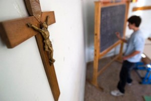 crucifix-on-a-classroom-wall-in-rome