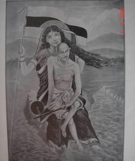 gandhi_bharata_mata