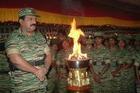 LTTE leader Mr. V. Pirapaharan at Heroes day