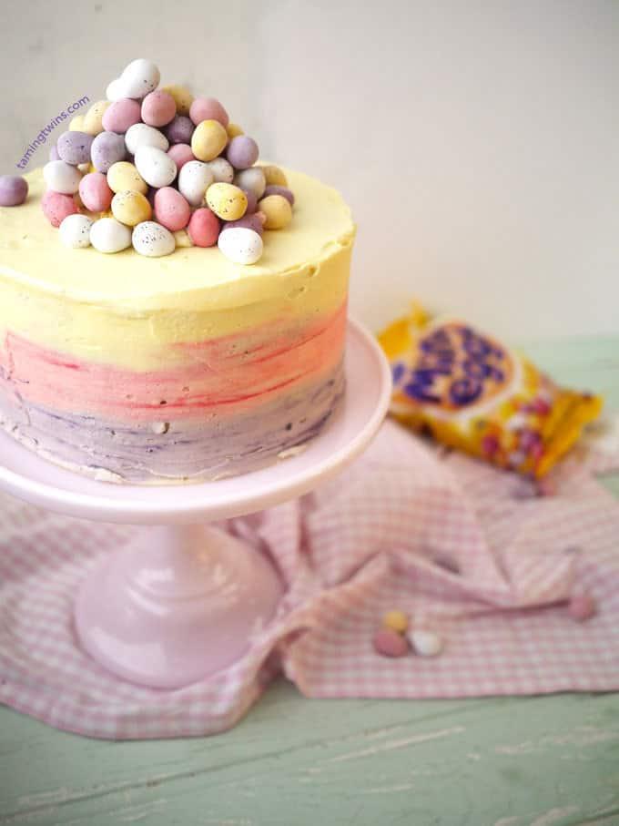 Easter Cakes Mini Eggs
