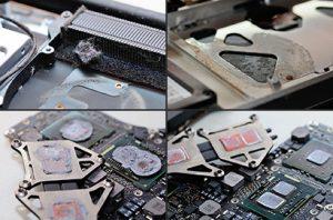 macbook air bakımı fan temizliği