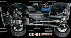 Tamiya CC01 Chassis