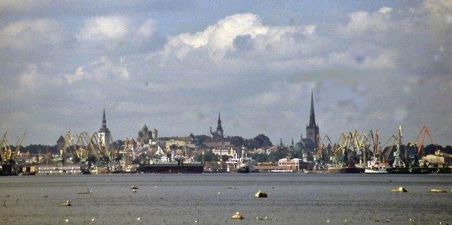 38 år senare kände jag väl igen Tallinns silhuett vid mitt första återbesök sedan järnridån lättat något.