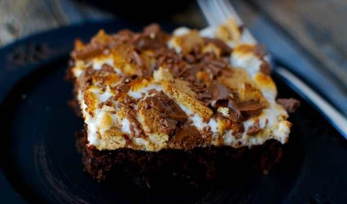 Smores Brownies Recipe