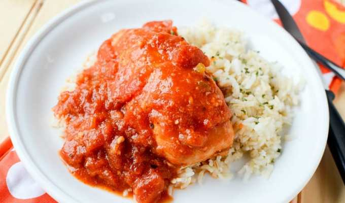Slow Cooker Crock Pot Tex-Mex Chicken Recipe