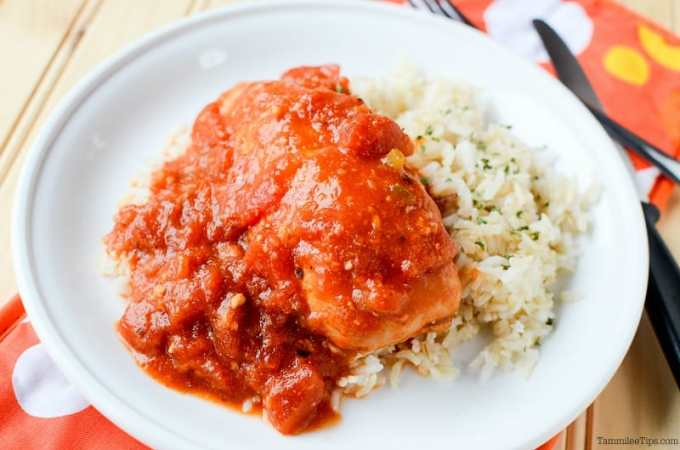 Slow Cooker Crock Pot Tex-Mex Chicken Recipe