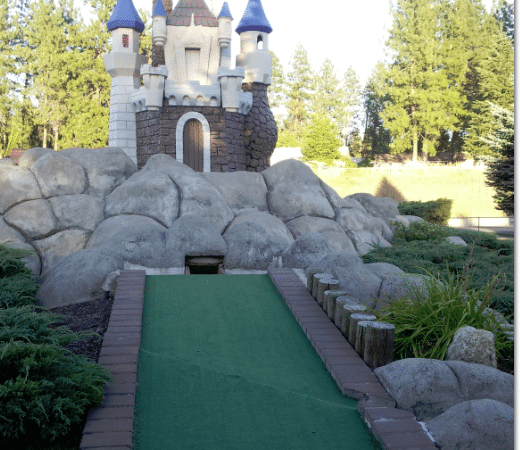 Spokane Frugal Date Night and Favorite ~ Putt Putt Golf
