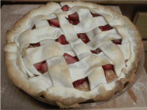 strawberry Cake pie 5