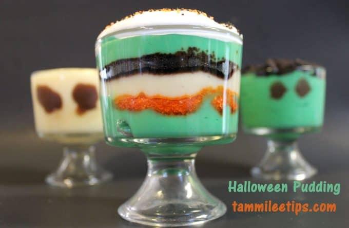 Halloween Pudding Treat