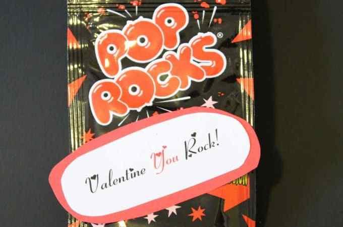 Valentine You Rock! Valentine's Day Gift