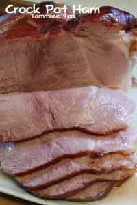 Crock Pot Ham Tammilee TIps