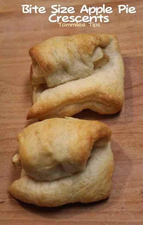 Bite Size Apple Pie Crescents Tammilee Tips