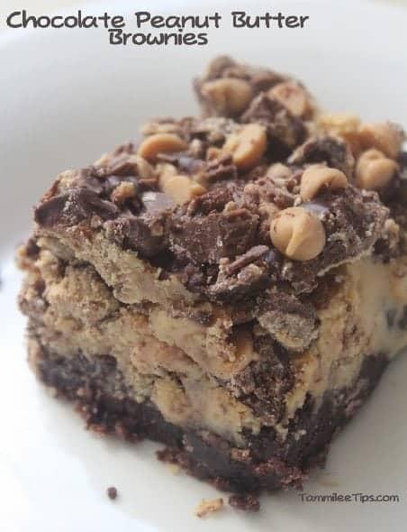 Chocolate Peanut Butter Bornwies