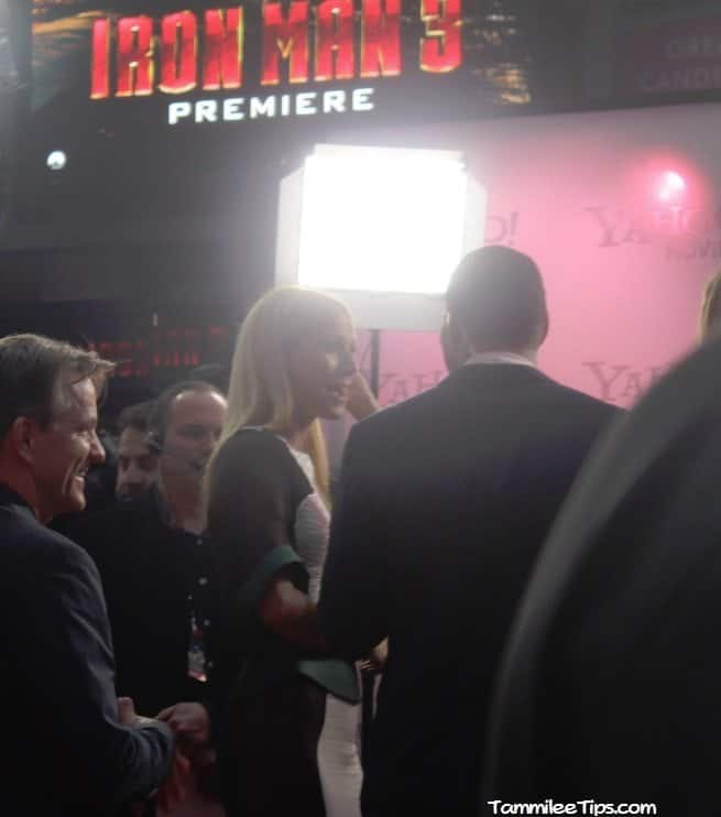 Iron Man 3 Red Carpet Premiere at the El Capitan Theater 9.3