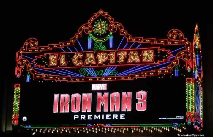 Iron Man 3 Red Carpet Premiere at the El Capitan Theater 9.5